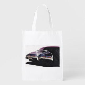 Esboço do carro vintage (45) Riviera 3 Sacolas Reusáveis
