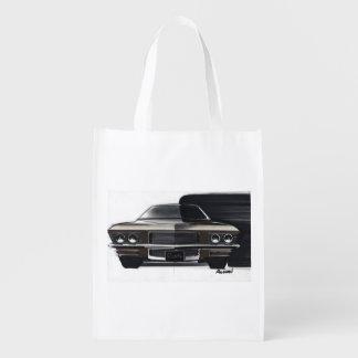 Esboço do carro vintage (48) Riviera 6 Sacola Reusável
