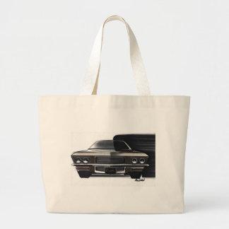 Esboço do carro vintage (48) Riviera 6 Sacola Tote Jumbo