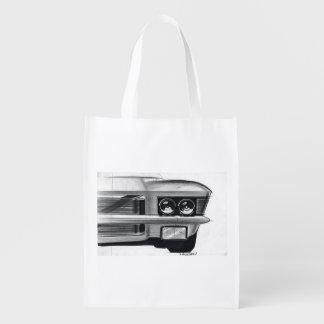 Esboço do carro vintage (49) Riviera 7 Sacola Ecológica