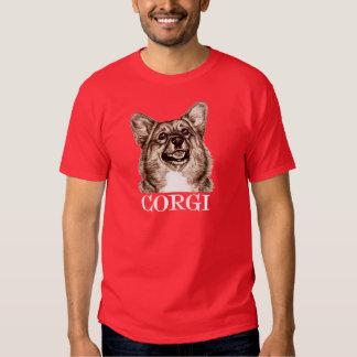 Esboço do Corgi Tshirts