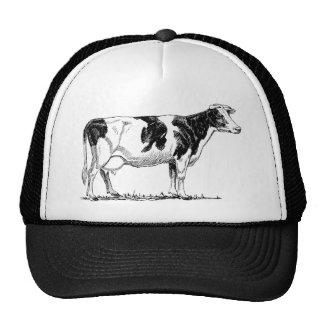 Esboço do lápis do design da vaca bones