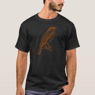 Esboço do pardal camiseta