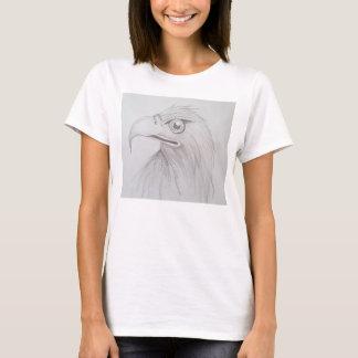 Esboço do pássaro t-shirt
