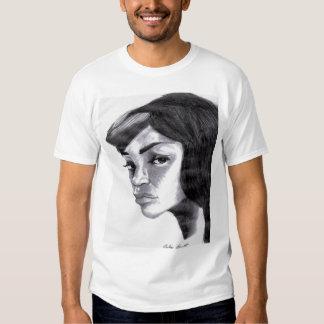 esboço fêmea tshirts