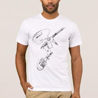 Esboço LUXE de DLX Camiseta