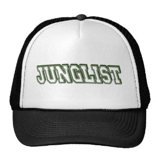 Esboço verde de Junglist Boné
