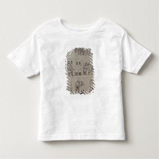 Esboços no salão de beleza de Paris Camisetas