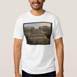 Escada de Richelieu, Odessa, Rússia, (isto é, T-shirt