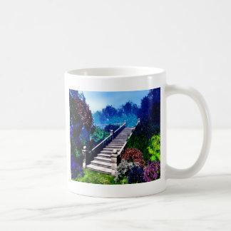 Escadaria ao paraíso caneca de café