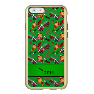 Escadas verdes conhecidas personalizadas dos capa incipio feather® shine para iPhone 6