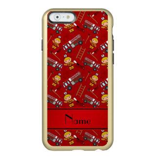 Escadas vermelhas conhecidas personalizadas dos capa incipio feather® shine para iPhone 6