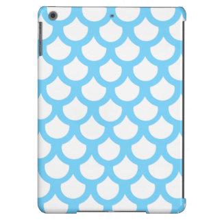 Escala de peixes 1 dos azul-céu capa para iPad air