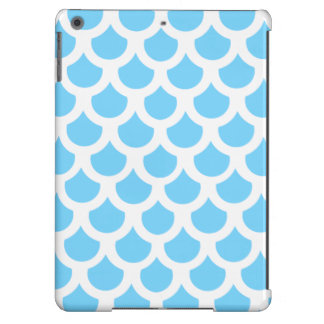 Escala de peixes 2 dos azul-céu capa para iPad air