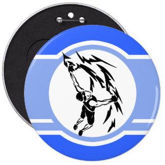 Escalada Azul Boton