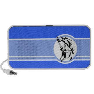 Escalada Azul Caixinhas De Som Para Laptop