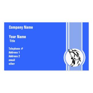 Escalada; Azul Cartão De Visita