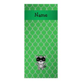 Escalas conhecidas personalizadas do dragão verde  panfletos informativos personalizados