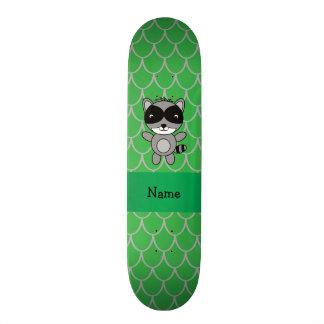 Escalas conhecidas personalizadas do dragão verde skates