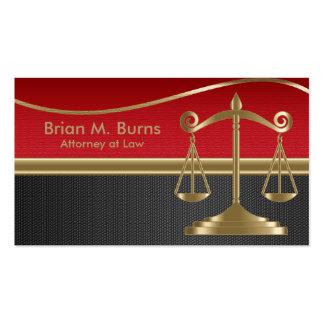 Escalas da lei | de justiça | customizável cartão de visita