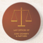 Escalas de justiça - porta copos
