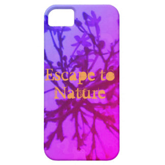 Escape à natureza capa para iPhone 5
