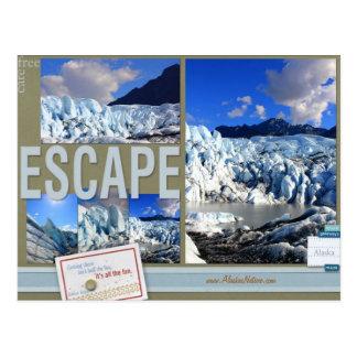 Escape livre do cuidado ao cartão de Alaska