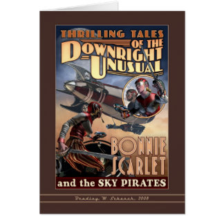 Escarlate Bonnie & o cartão dos piratas do céu