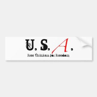 Escarlate de letra pequena, E.U.. , Pensadores liv Adesivo Para Carro