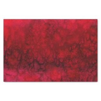 """""""Escarlate"""" do abstrato vermelho da seda Papel De Seda"""