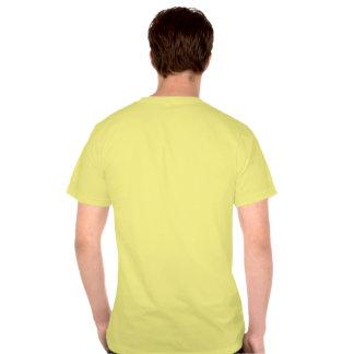 Escarlate do Macaw pintado T-shirts
