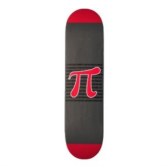 Escarlate do símbolo vermelho do Pi Skates