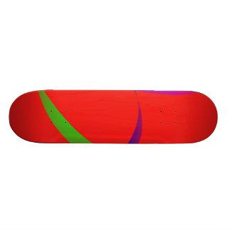 Escarlate independente da arte abstracta skates