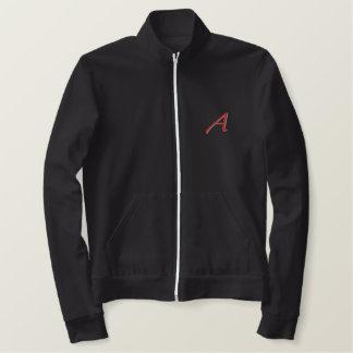 Escarlate uma jaqueta da trilha do design