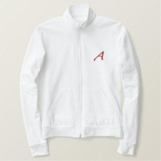 Escarlate uma jaqueta do suor do design