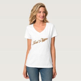 Escavador do objetivo camiseta