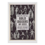 Escavadores de ouro de 1933 posters