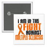 Esclerose múltipla do MS na LUTA 1 Botons