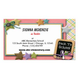 Escola Cartão De Visita