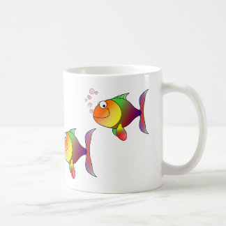 Escola da caneca do peixe dourado da Multi-cor