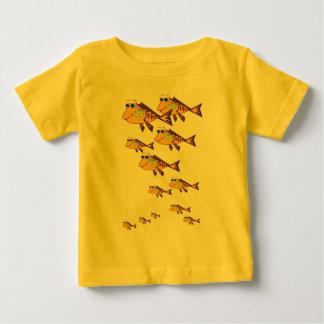 Escola da FishT-Camisa amarela Camiseta