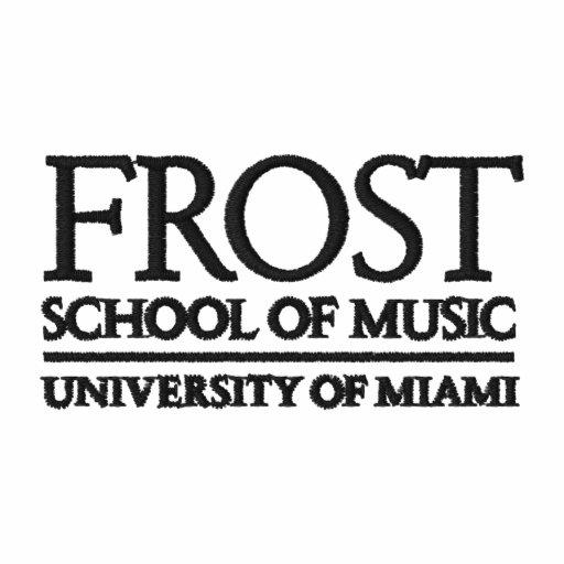 Escola de Frost do logotipo da música Camisas Polo Bordadas