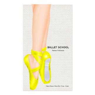 Escola do balé cartão de visita