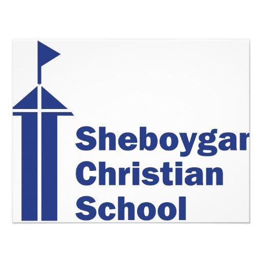 Escola do cristão de Sheboygan Convites Personalizado