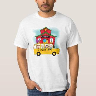 Escola e t-shirt e presentes do auto escolar