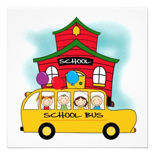 Escola e t-shirt e presentes do auto escolar convite personalizados