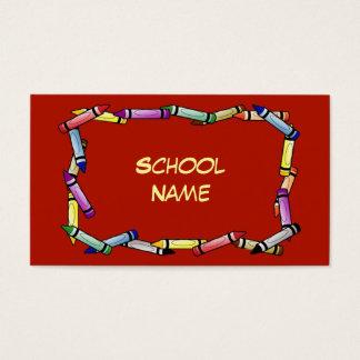 Escola ou cartão de visita da guarda