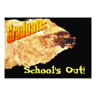 Escola para fora convite