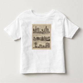 Escola pública, o tribunal, Minnesota T-shirts
