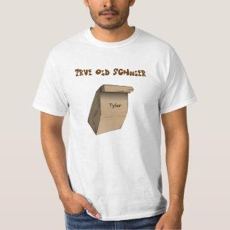 Escolar idoso verdadeiro tshirts